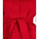 Cappotto Lari in lana vergine rosso