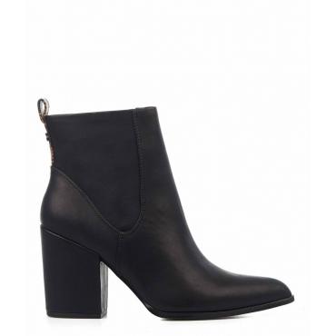 Stivali in ecopelle nero