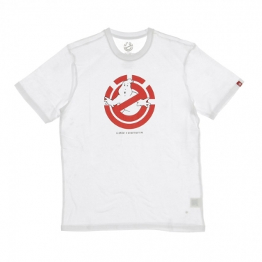 MAGLIETTA ELEMENT X GHOSTBUSTERS GHOSTLY OPTIC WHITE
