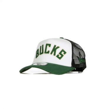 CAPPELLINO VISIERA CURVA NBA TEAM TRUCKER COLOUR BLOCK A-FRAME MILBUC ORIGINAL TEAM COLORS