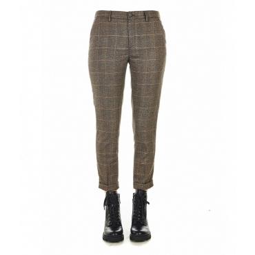 Pantaloni eleganti Luxury marrone