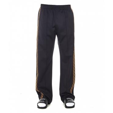 Trackpants Folk tape loose nero