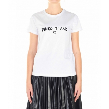 T-shirt Arnold bianco