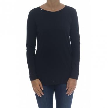 T-shirt - T40201 11 - nero