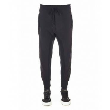Pantaloni a taglio profondo nero