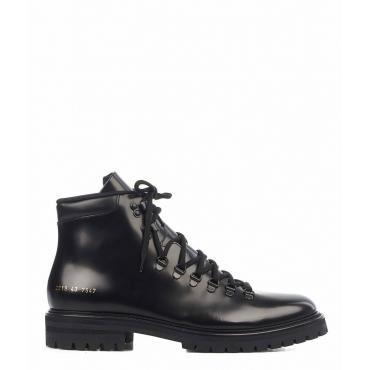 Stivali in pelle nero