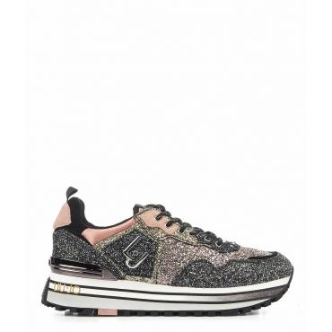Sneaker Wonder Maxi argento