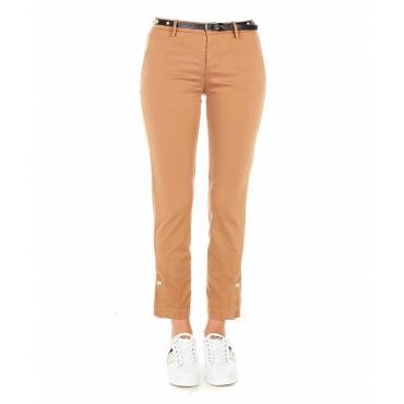 Pantaloni Chino Chic Cammello