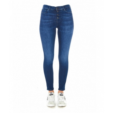 Jeans Eco Self-Shape blu