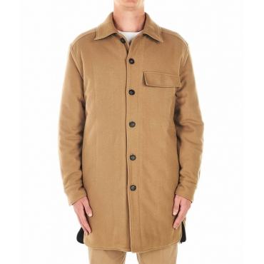 Cappotto di lana Cammello