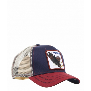 Baseball Cap Freedom blu scuro