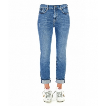 Jeans Relaxed Skinny blu