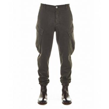 Pantaloni con maxi tasche nero