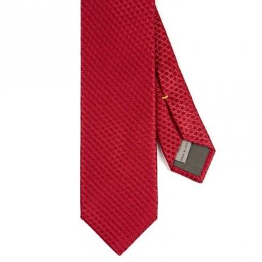 Cravatta in seta rossa 000