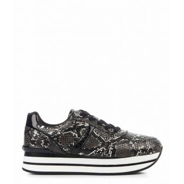 Sneaker in ecopelle nero