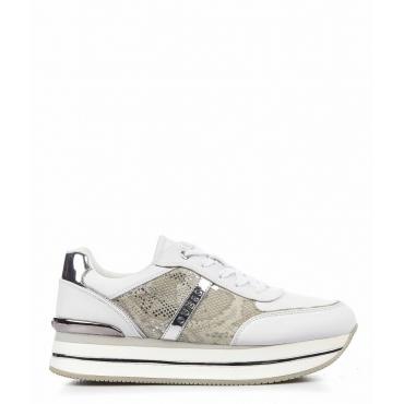 Sneaker in ecopelle bianco