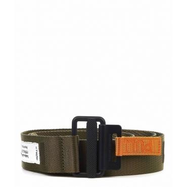 Cintura logo-tape nero