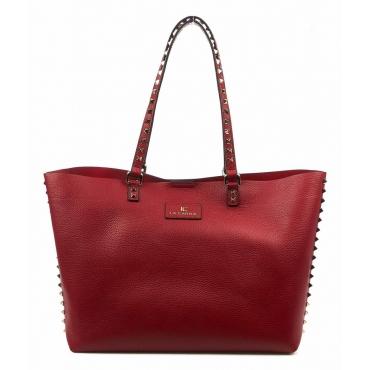 Tote Bag Bottalato rosso