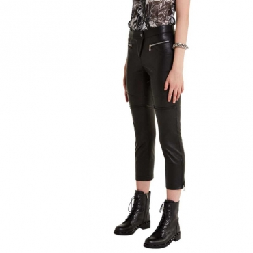 Leggings rock in pelle sintetica K103