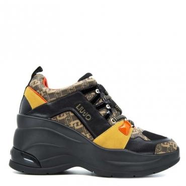 Sneakers over Karlie 14 S1033BLACK