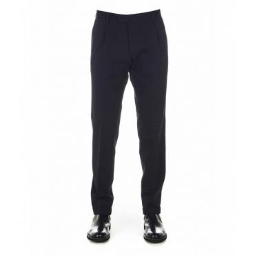 Pantaloni eleganti in jersey nero