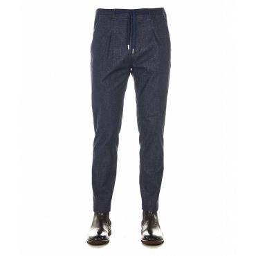 Pantaloni S Mitte blu scuro