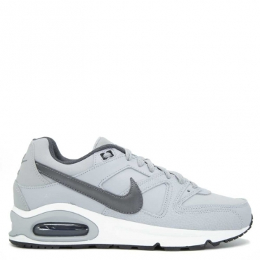 Sneakers Air Max Command in pelle grigia 012WOLFGREY/