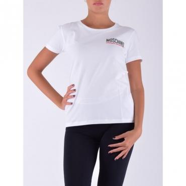 T-shirt logo BIANCO