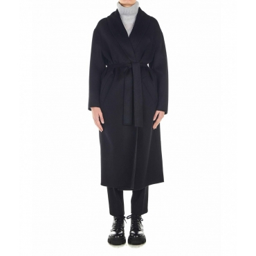 Wool Coat nero