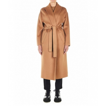 Wool Coat Cammello