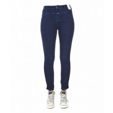 Skinny Jeans blu scuro