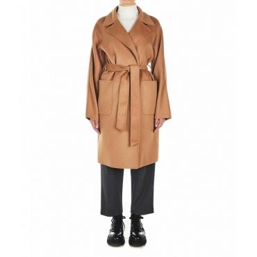 Cappotto in lana Cammello
