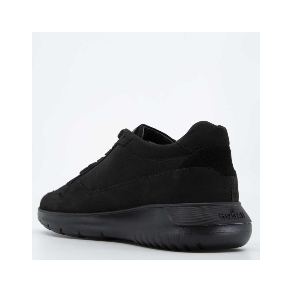 Hogan - Sneakers Interactive 3 in cuoio nero NERO BLUDENI ...