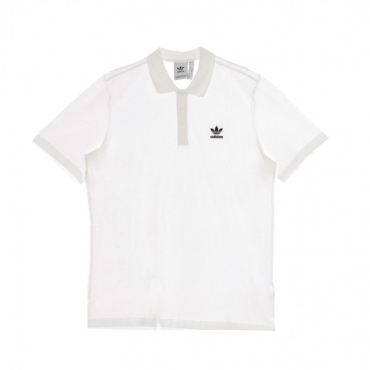 POLO MANICA CORTA ESSENTIAL POLO WHITE