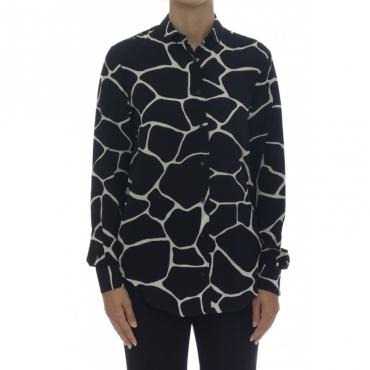 Camicia donna - Giselle 75502 camicia viscosa stampa 4