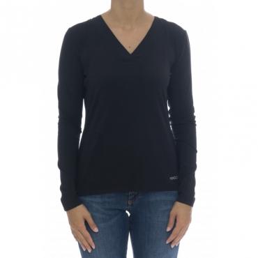 T-shirt donna - Ralum 0016 - Nero