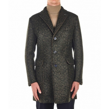 Cappotto Henry verde