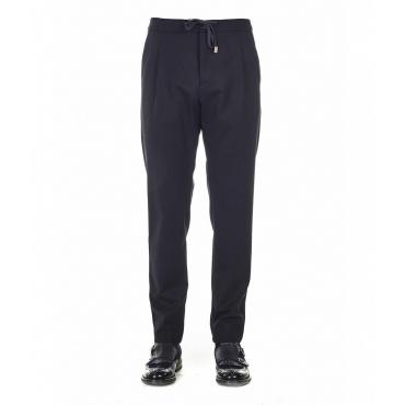 Pantaloni casual blu
