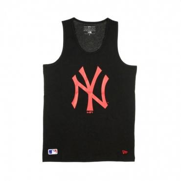 CANOTTA MLB SEASONAL TEAM LOGO TANK NEYYAN BLACK/CYBER RED