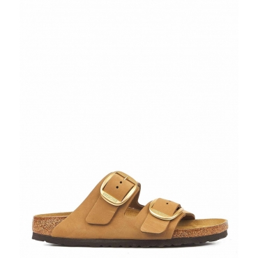 Slides Arizona Big Buckle marrone chiaro