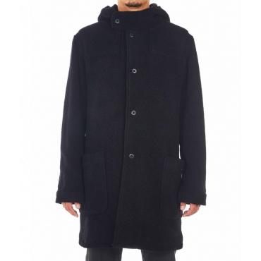 Cappotto di lana Pa33ter nero