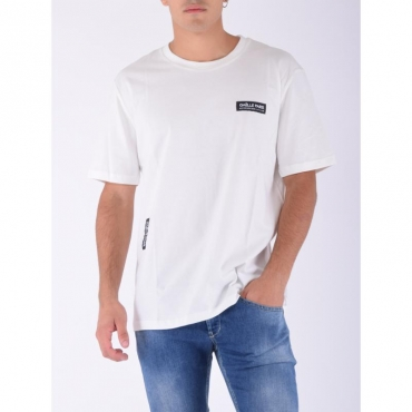 T-shirt patch logo OFF WHITE