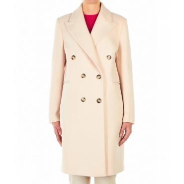 Cappotto rosa chiaro