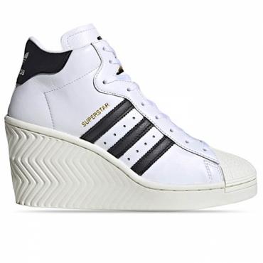 ADIDAS SUPERSTAR ELLURE Donna FOOTWEAR WHITE/CORE BLACK/OFF WHITE - FW0102