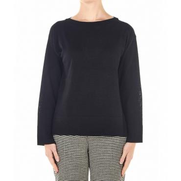 Maglione leggero Mi1nt023 nero