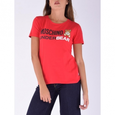 T-shirt underbear ROSSO