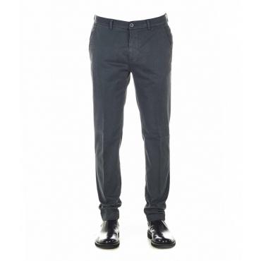 Pantaloni chino con struttura Marais grigio scuro