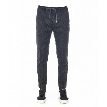 Pantaloni Ardesia grigio scuro