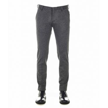 Pantaloni eleganti America lungo grigio
