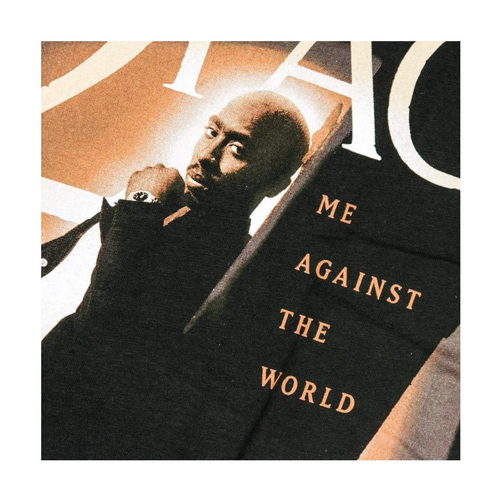 MAGLIETTA TUPAC ME AGAINST THE WORLD BLACK
